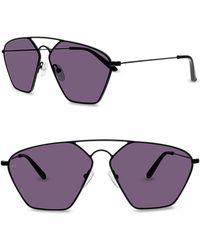 Smoke X Mirrors - Geo Iii 56mm Sunglasses - - Lyst
