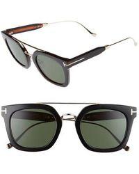 Tom Ford - Alex 51mm Sunglasses - - Lyst