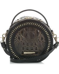 Brahmin - Lane Croc Embossed Leather Crossbody Bag - - Lyst