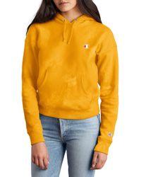 1f1a2de2ee40 Urban Renewal Riverside Tool & Dye X Vintage Champion Hand Dyed Sweatshirt  in Pink - Lyst