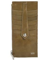 Hobo - 'linn' Leather Card Case - Lyst