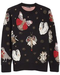 Alexander McQueen - Gothic Fairytale Jacquard Knit Sweater - Lyst