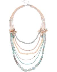 Nakamol - Multilayer Beaded Necklace - Lyst