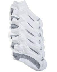 Zella | 6-pack Liner Socks, White | Lyst