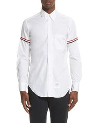Thom Browne - Woven Shirt - Lyst
