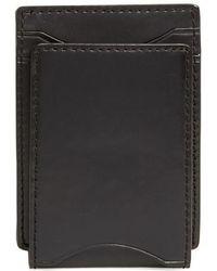 John Varvatos | John Varvatos Star Usa Flap Id Leather Card Case | Lyst
