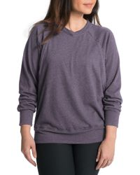 Bun Maternity - Relaxed Daily Maternity/nursing Sweatshirt - Lyst