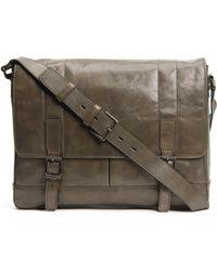 Frye - 'oliver' Leather Messenger Bag - - Lyst
