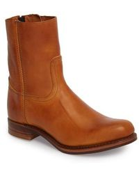 Frye | Campus Side Zip Boot | Lyst