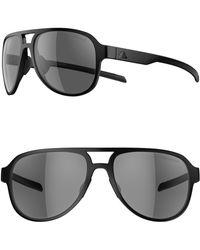 2b38ebea5a712 adidas - Pacyr 58mm Polarized Navigator Sport Sunglasses - - Lyst