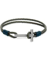 Ted Baker - Shrug Leather Bracelet - Lyst
