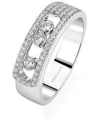 Messika | Move Noa Diamond Ring | Lyst