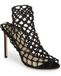 Francesco Russo - Knotted Sock Bootie - Lyst