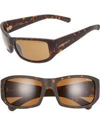 de48e0189f5da Smith - Bauhaus 59mm Chromapop(tm) Polarized Wraparound Sunglasses - - Lyst