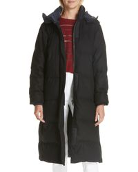 Rag & Bone - Jenset Quilted Wool Blend Coat - Lyst