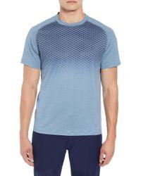 Peter Millar - Rio Honeycomb Print Performance T-shirt - Lyst