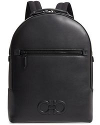 Ferragamo - Firenze Leather Backpack - Lyst