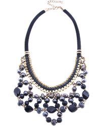 Nakamol - Crystal Loop Necklace - Lyst