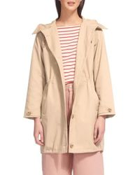 Whistles | Hooded Spring Parka | Lyst