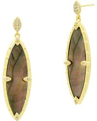 Freida Rothman - Color Theory Marquise Drop Earrings - Lyst