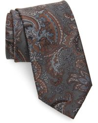 Brioni - Paisley Silk Tie - Lyst