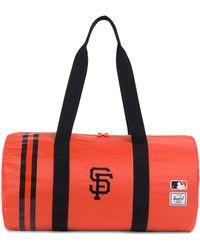feacc9d0a5c4 Lyst - Herschel Supply Co. Packables Packable Duffel Bag in Red for Men