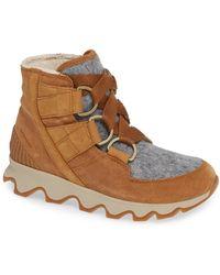 Sorel - Kinetic Waterproof Short Lace-up Boot - Lyst