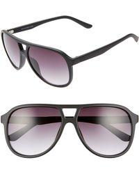 02691e7714f Lyst - Nordstrom 1901 Hank 58mm Aviator Sunglasses for Men