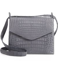 4a6d6125ccfb91 Nancy Gonzalez - Medium Astor Crossbody Genuine Crocodile Bag - - Lyst