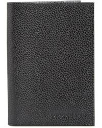 Longchamp - Leather Passport Case - Lyst