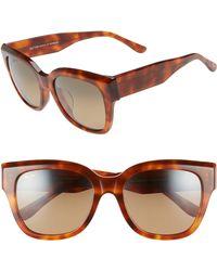 Maui Jim - Siren Song 54mm Polarizedplus2 Cat Eye Sunglasses - Koa Tortoise - Lyst