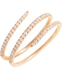 Bony Levy - Diamond Spiral Ring (nordstrom Exclusive) - Lyst