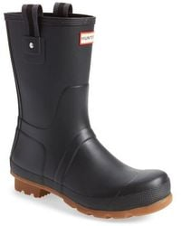 HUNTER - Original Sissinghurst Rain Boot - Lyst