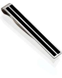 M-clip   M-clip Enamel Tie Clip   Lyst