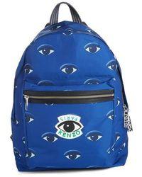 KENZO - 'eyes' Nylon Backpack - Lyst