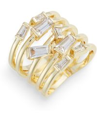 Melinda Maria - Emily Stacked Ring - Lyst