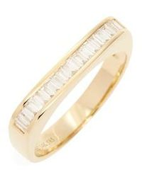 EF Collection | Baguette Diamond Band | Lyst