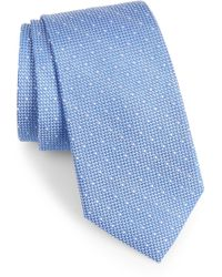 Calibrate - Bre Dot Cotton & Silk Tie - Lyst