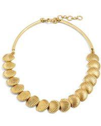 J.Crew - J.crew Seashell Collar Necklace - Lyst