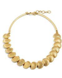 J.Crew - Seashell Collar Necklace - Lyst