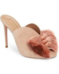 Aquazzura - Lotus Blossom Mule Sandal - Lyst