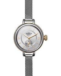Shinola - Birdy Mesh - Bracelet Watch - Lyst