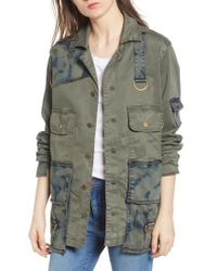 True Religion - Military Jacket - Lyst