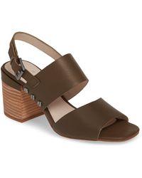 ac5141920bb Lyst - Caslon (r)  carden  Block Heel Slingback Sandal (women)