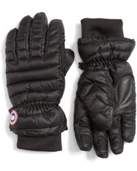 Canada Goose - Lightweight Quilted Down Gloves - Lyst