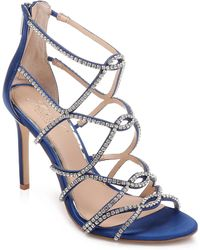34cb3ea88f72 Badgley Mischka - Jewel By Badgley Mischka Delancey Evening Sandals - Lyst