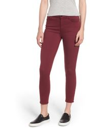 Jen7 - Jen 7 Colored Skinny Jeans - Lyst