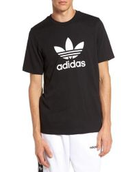adidas Originals - Trefoil Graphic T-shirt - Lyst