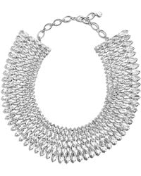 BaubleBar - Anatalia Crystal Collar Necklace - Lyst