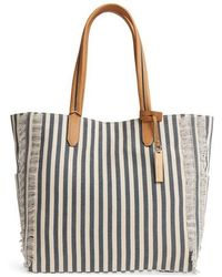 Vince Camuto | Iona Canvas Tote | Lyst